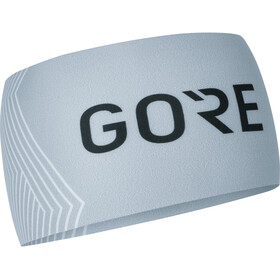 GORE WEAR M Opti Headband light grey/white